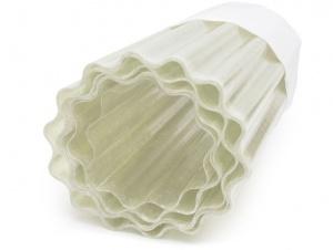 Sklolaminátová vlnitá role PES - opál