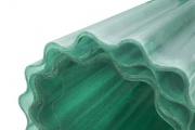 Sklolaminátová vlnitá role PES - zelená (řezy na míru) - 2,5 x 30 m