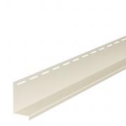 Okapový profil DECO SIDING SV-16 - 01 bílá /3,05 M