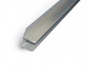 Ukončovací lišta ALU-F ELOX - 16 mm