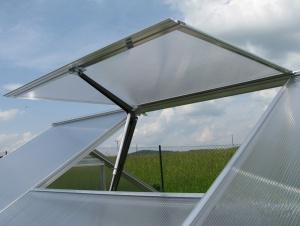 Větrací okno pro skleník Gardentec