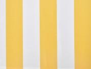Zahradní markýza terasová markýza 2950 x 2000 mm bílá / žlutá