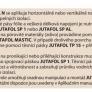 JutaFOL N 110 SPECIAL (samozahášivá)