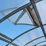 Větrací okno pro zahradní skleník 2DUM