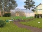 Zahradní skleník z polykarbonátu SL