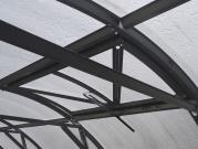 Větrací okno pro zahradní skleník Trjoska